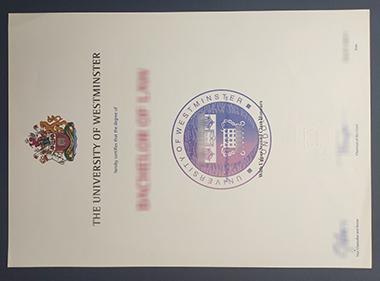 Buy University of Westminster certificate.哪里能买到威斯敏斯特大学证书?