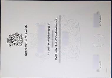 Buy fake Nottingham Trent University degree 怎样获得诺丁汉特伦特大学NTU学位证书?