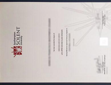 Where can I buy a fake Solent University degree in US? 索伦特大学学位证书办理