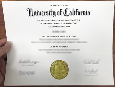 Where to buy a fake University of California, Riverside degree online? 在线购买加州大学河滨分校UCR学位证书