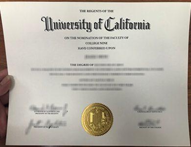 How to get a fake University of California, Santa Cruz degree? 加州大学圣克鲁斯分校UCSC证书办理