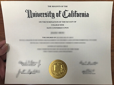 How to get a fake University of California, Santa Cruz degree? 加州大学圣克鲁斯分校UCSC证书办理