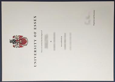 Buy University of Essex certificate. 怎样快速获得埃塞克斯大学证书?
