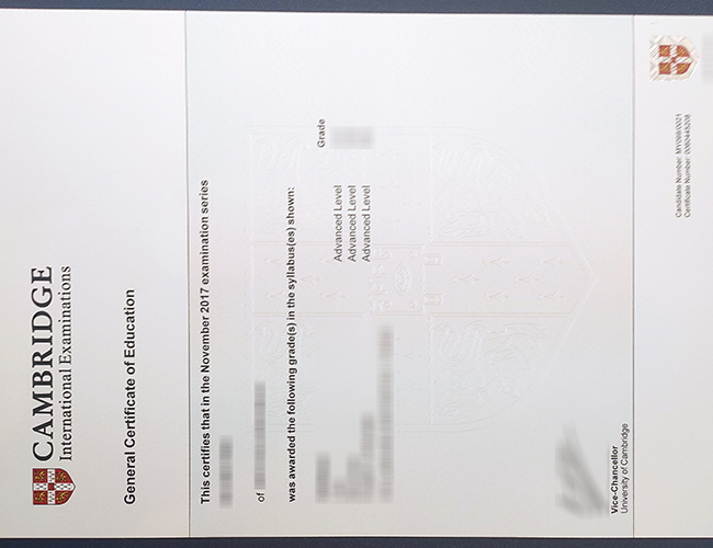 How to get a fake Cambridge Assessment International Education certificate? 快速获得剑桥评估国际教育证书