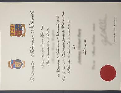 Get a fake National University of Ireland Galway diploma online. 在线购买爱尔兰国立高威大学NUI Galway文凭证书