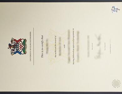 Can I buy a fake University of Gloucestershire certificate in UK? 在线获得格洛斯特郡大学证书