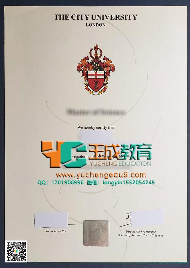 伦敦城市大学CUL毕业证