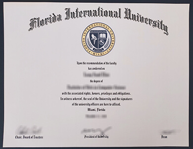 How to purchase Florida International University degree? 购买佛罗里达国际大学FIU证书