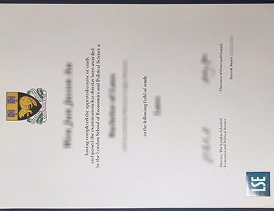 Order LSE diploma online. 在线订购伦敦经济学院学位