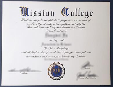 Buy Mission College degree 在线购买宣教学院毕业证