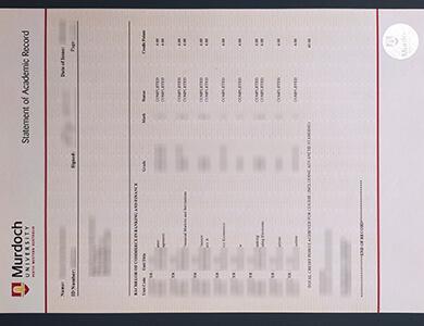 Order Murdoch University transcript, 订制澳洲默多克大学成绩单