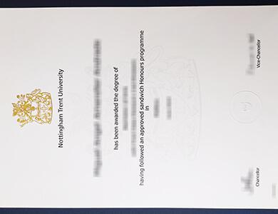 Order Nottingham Trent University degree certificate, 快速办理诺丁汉特伦特大学NTU学位证书