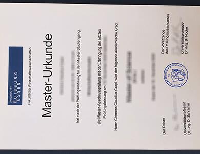 Get University of Duisburg-Essen degree online,在线获得杜伊斯堡-埃森大学文凭