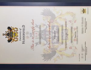 University of Huddersfield degree 哈德斯菲尔德大学毕业证