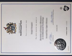 University of Northampton degree 北安普顿大学毕业证
