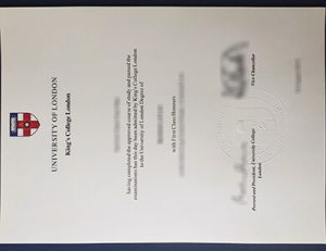 King's College London degree 伦敦国王学院KCL毕业证