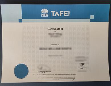 Where to order a TAFE certificate in Australia? 快速办理澳大利亚技术和进修证书
