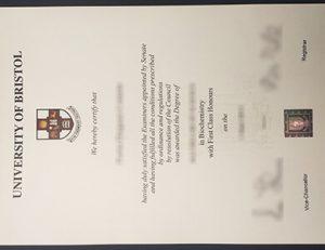 University of Bristol degree 布里斯托大学证书