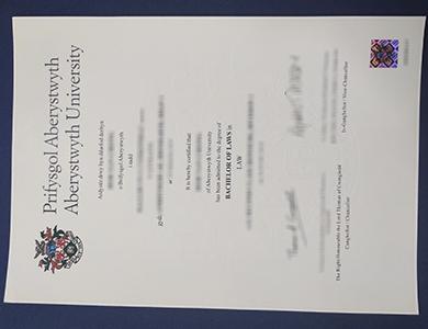办理阿伯里斯特威斯大学法学学士学位 Where to buy a fake Aberystwyth University degree of Bachelor of Laws?