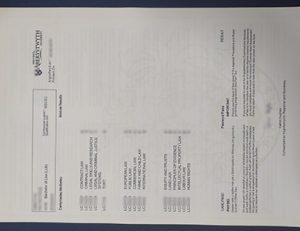 阿伯里斯特威斯大学成绩单 Aberystwyth University transcript