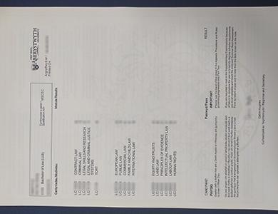 在线购买假的阿伯里斯特威斯大学成绩单 Purchase a fake Aberystwyth University transcript