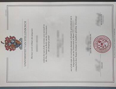Where to buy a fake Stellenbosch University degree certificate? 订购斯泰伦博斯大学假证书