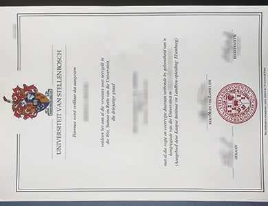 How to purchase a fake Stellenbosch University degree? 如何购买斯泰伦博斯大学证书?