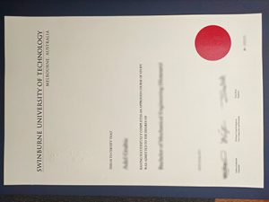 斯威本科技大学SUT毕业证 Swinburne University of Technology degree