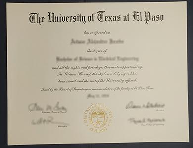 如何购买伪造的德克萨斯大学埃尔帕索分校UTEP毕业证? How to purchase a phony University of Texas at El Paso (UTEP) degree?