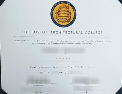 购买波士顿建筑学院BAC毕业证需要多长时间? How long to buy a fake Boston Architectural College (BAC) degree?