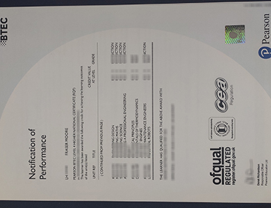 在线订制伪造的商业和技术教育委员会BTEC Level 4 成绩单 Buy a fake Business and Technology Education Council (BTEC)  Level 4 transcript