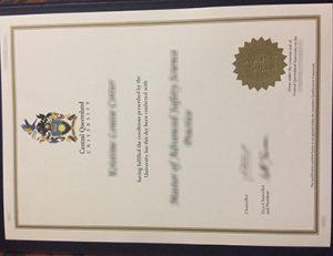 中央昆士兰大学证书 CQU Central Queensland University degree