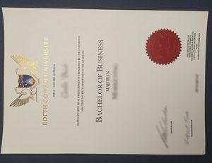 埃迪斯科文大学ECU商业学士学位 Edith Cowan University (ECU) bachelor of business degree