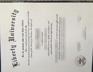 自由大学毕业证 Liberty University (LU) degree