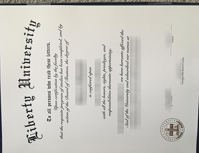 在线购买自由大学 (LU) 毕业证需要注意什么? Purchase a fake Liberty University (LU) degree online