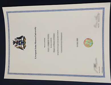 办理利物浦约翰摩尔斯大学LJMU毕业证 Purchase a fake Liverpool John Moores University (LJMU)  certificate