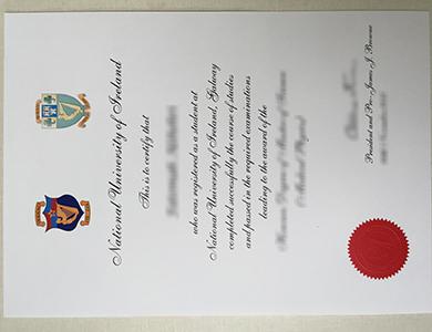 快速订制爱尔兰国立大学NUI毕业证 Buy a fake National University of Ireland degree