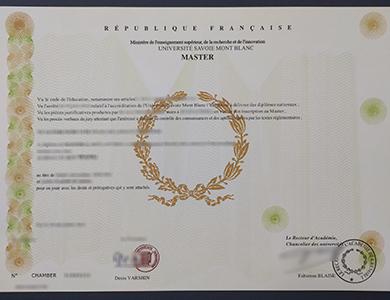 快速获得萨沃伊勃朗峰大学学位证书  Get a phony Savoy Mont Blanc University degree online