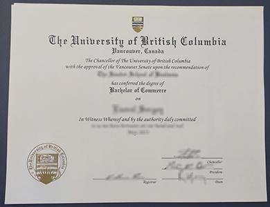 办理不列颠哥伦比亚大学(UBC)商业学士学位 Buy a fake University of British Columbia (UBC) Bachelor of Commerce degree
