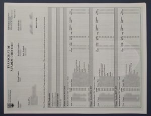 不列颠哥伦比亚大学UBC成绩单 University of British Columbia (UBC) transcript