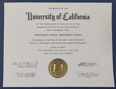 购买正版加州大学戴维斯分校UCD工商管理硕士学位 Buy best University of California Davis (UCD) degree of master of business administration