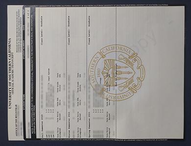 如何正确获得伪造的南加州大学USC成绩单? How much to buy a fake University of Southern California (USC) transcript?
