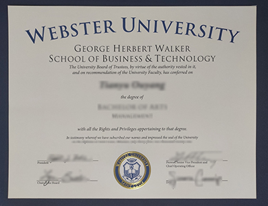 关于获得韦伯斯特大学管理学学士学位的方法 Order a realistic Webster University degree of bachelor of arts management