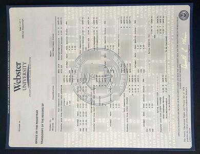 订制韦伯斯特大学管理学学士伪造成绩单 Purchase a phony Webster University transcript in USA