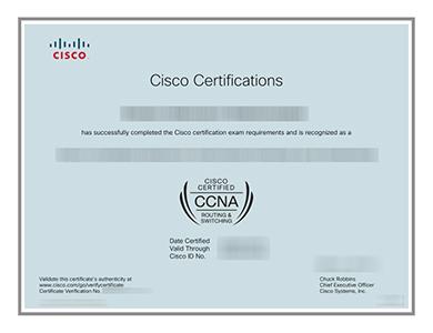 在线办理高质量的CCNA证书 Buy a high quality CCNA certificate online