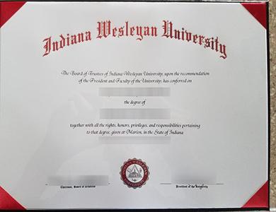 在线订制印第安纳卫斯理大学毕业证  Purchase a phony Indiana Wesleyan University degree online