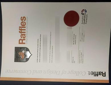 办理莱佛士设计与商业学院RCDC学位 Buy a fake Raffles College of Design and Commerce degree