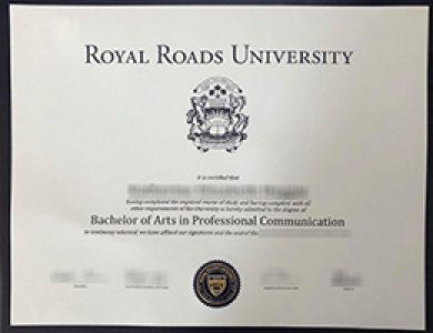 购买皇家大学专业传播学文学士学位需要注意什么? Buy a fake Royal Roads University degree