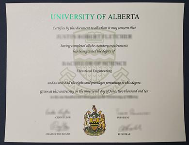 办理阿尔伯塔大学毕业证 buy fake University of Alberta degree online