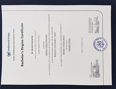 在线购买哈根大学毕业证 Buy a fake University of Hagen degree in Germany